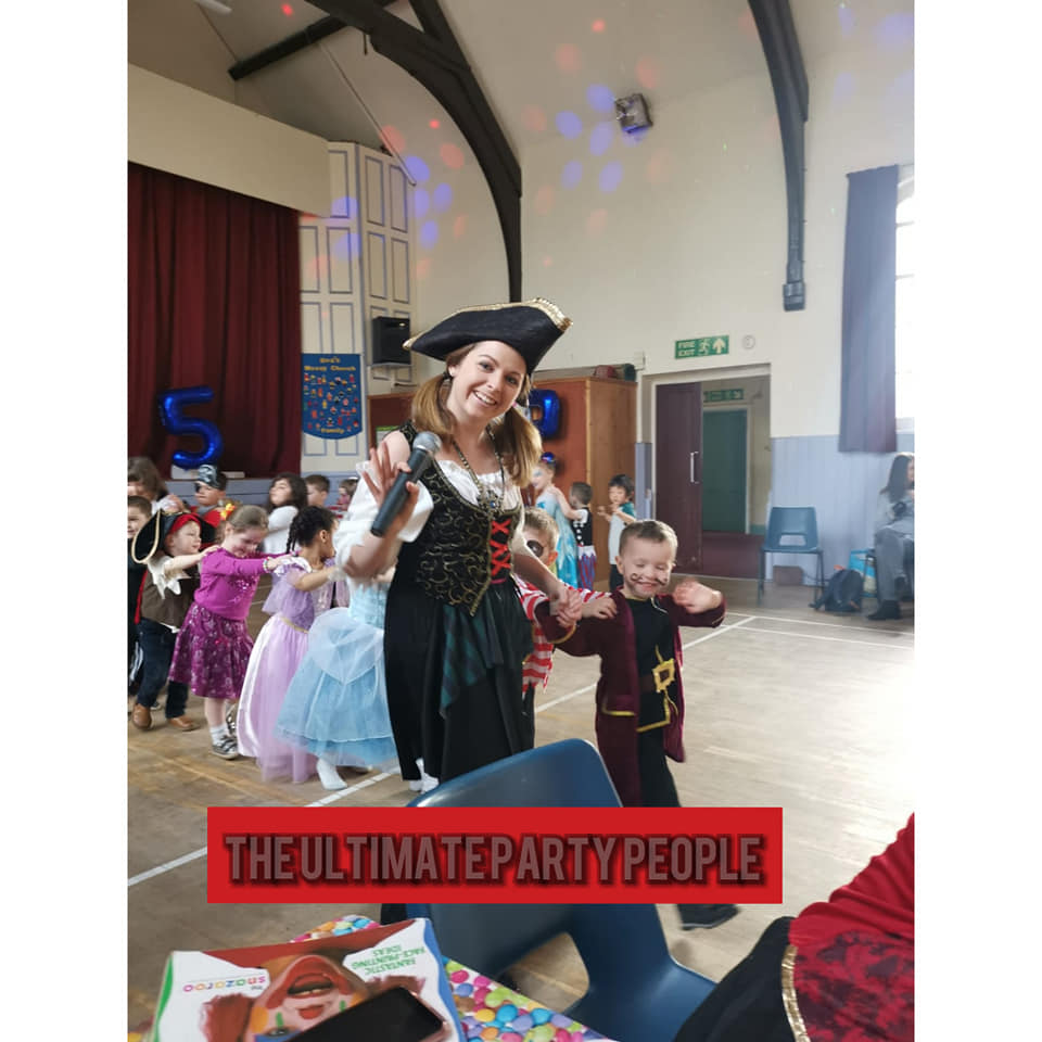 Pirate birthday parties in Liverpool