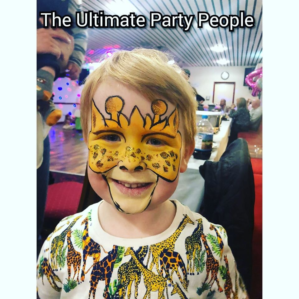 Facepainting kids parties Liverpool