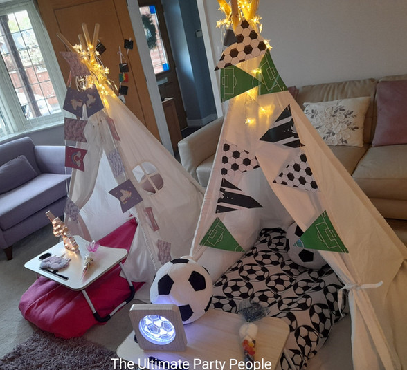 Hire a teepee for your children