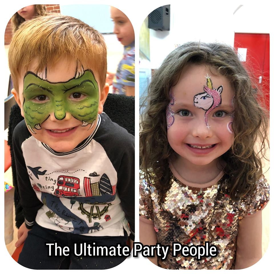 Fantastic facepainting for birthdays Liverpool