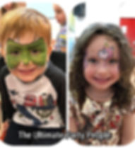 Children's facepainters Liverpool, Liverpool entertainers, Christening entertainment, Party ideas, Wedding entertainment