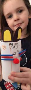 Kids activities easter bunny!