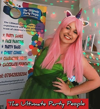 Unicorn parties, weddings entertainment, facepainter, children's entertainer widnes, children's parties St Helens, Birthday parties Formby