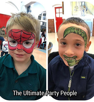 Children's party company, children's entertainment Glazebury,facepainting formby,child birthday parties formby