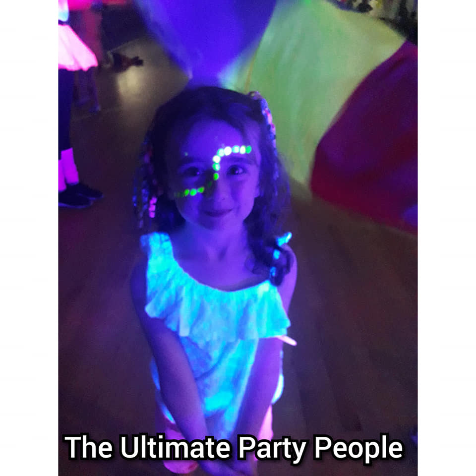 Glow in the dark parties St Helens