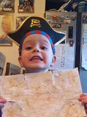 The cutest pirate I ever did see!