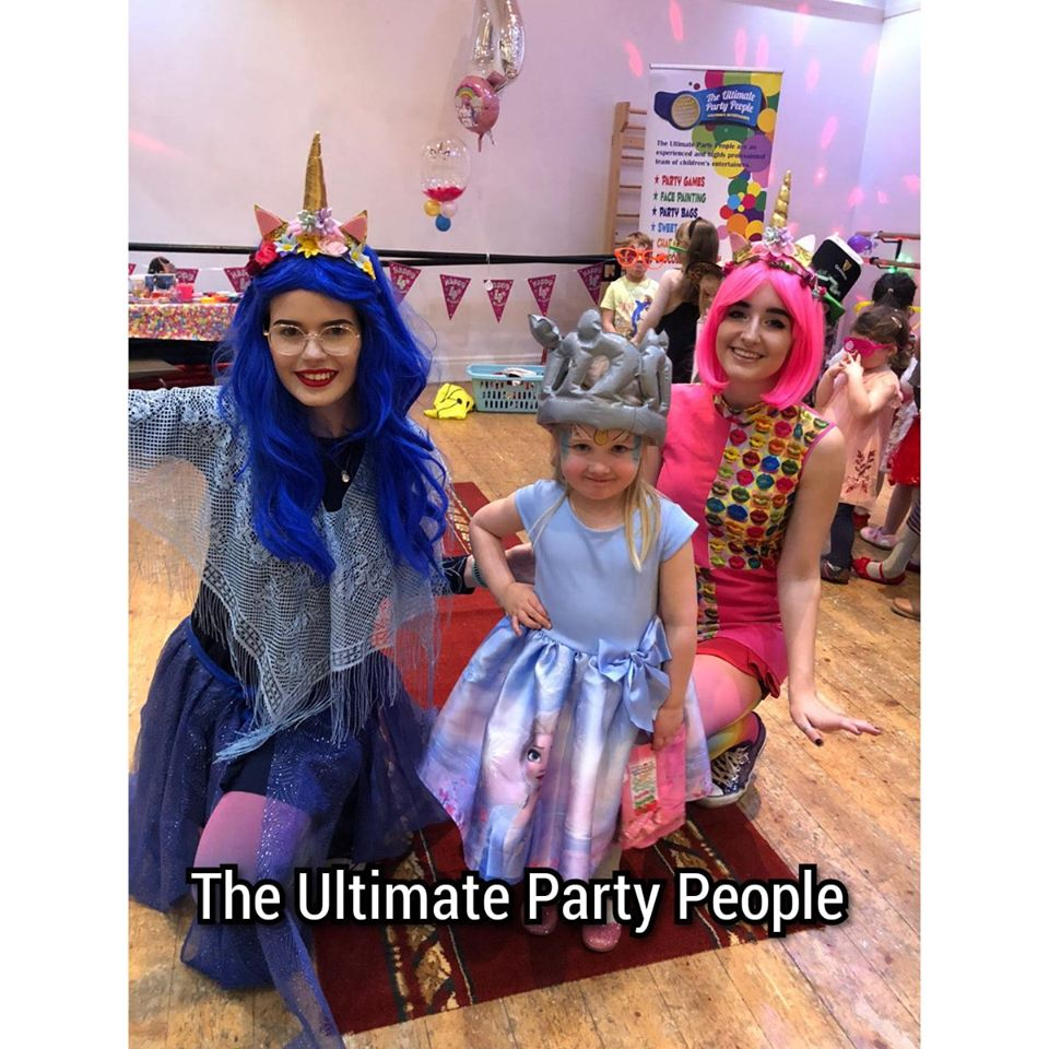 Kids unicorn parties in Aughton