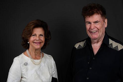 Peter Buserund Königin Silvia von Schweden