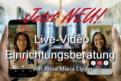 1 Stunde Live-Video Einrichtungsberatung