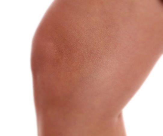 Kälte- Anwendung Knie