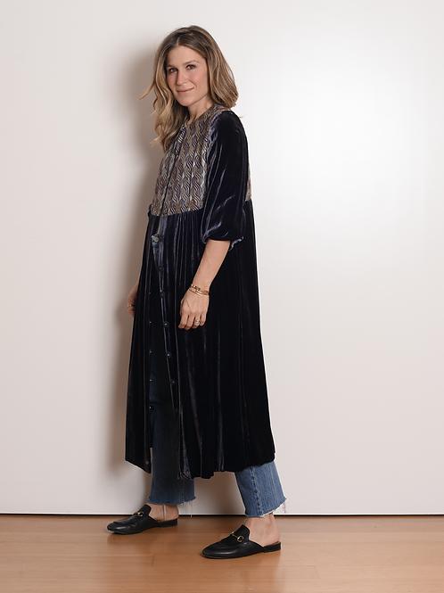 Kimono / Vestido Jaipur Azul Oumuamua