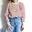 Thumbnail: Sweater Adulto Listrado Banana Bordeaux Demain