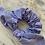 Thumbnail: Scrunchie Vichy Azul Marinho