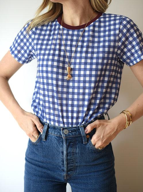 Camiseta Kate Vichy RayT-Shirt