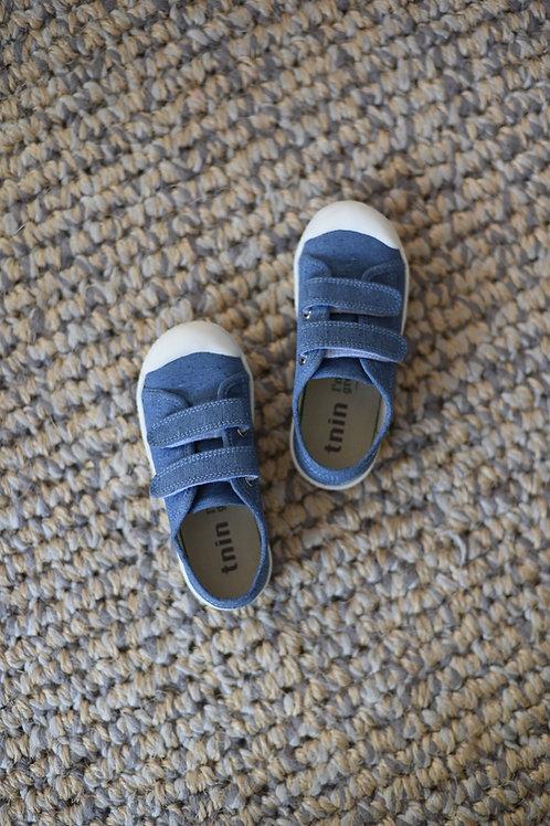 Tenis Jeans velcro Infantil Tnin