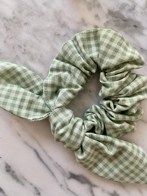 Scrunchie Vichy Verde Claro