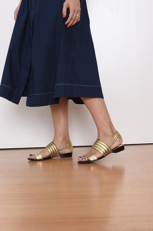 Sandália Laura Dourada Botti