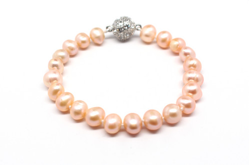 s p baroque white huge clasp sea aaa pearl bracelet south gold