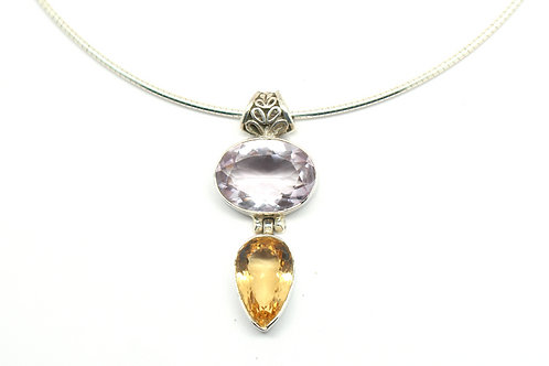 Elegant Princess Drop Necklace