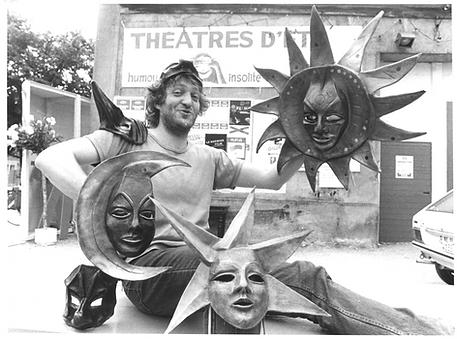 Pierangelo Summa par Yves Humbert, 1980 ca.