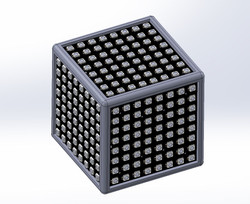 RGB cube assembly