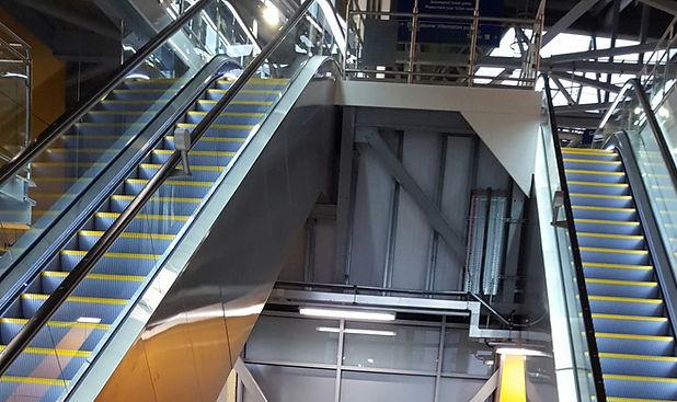 ETEC Escalators Installation Leeds, ETEC Escalators, Keighley, West Yorkshire, installation, maintenance, refurb, handrails, upgrades, all escalators services.