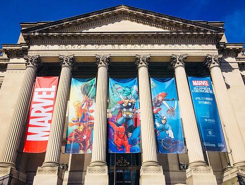 Marvel Exhibition Philadelphia