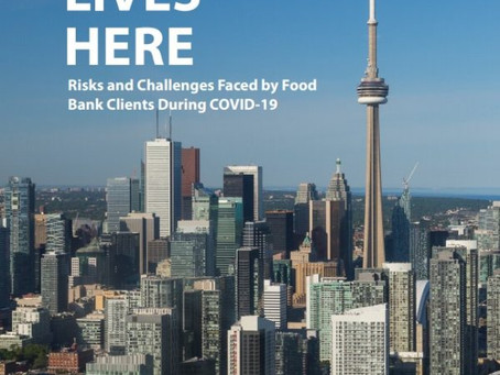 Hunger Lives Here: Risks and Challenges Faced by Food Bank Clients During COVID-19 - AUGUST 6, 2020