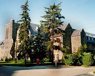 Loretto Abbey school grounds