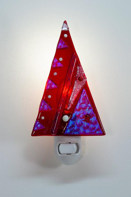 Tree Nightlight - Red Hot Ruby