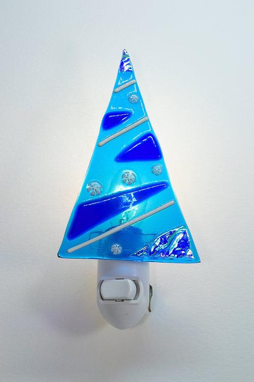 Tree Nightlight - Sapphire Blues
