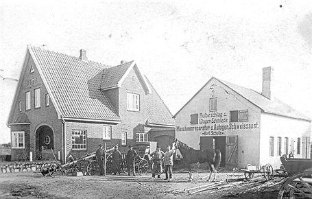 Die historische Schmiede in Westerland
