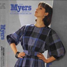 John Myers 1984-85