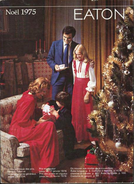Eatons 1975 Christmas French