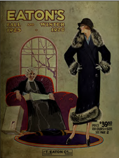 Eatons 1925-26