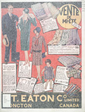 Eatons 1928 French