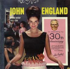 John England 1963-64