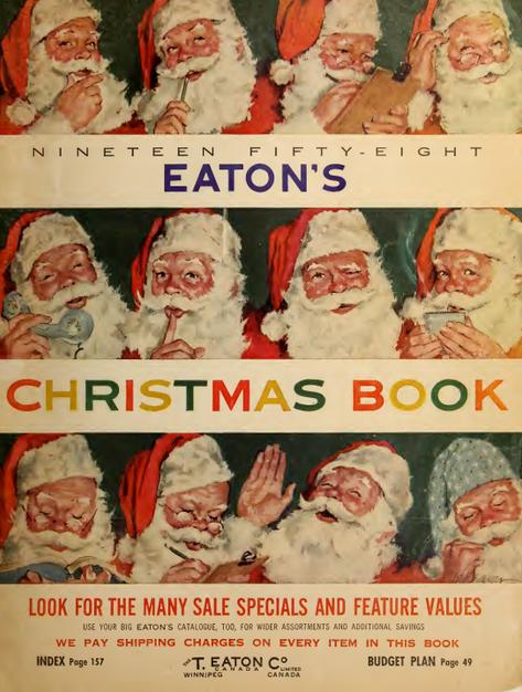 Eatons 1958 Christmas