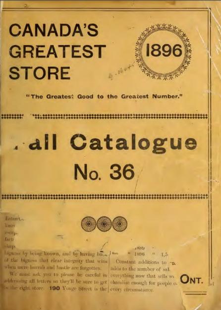 Eatons 1896