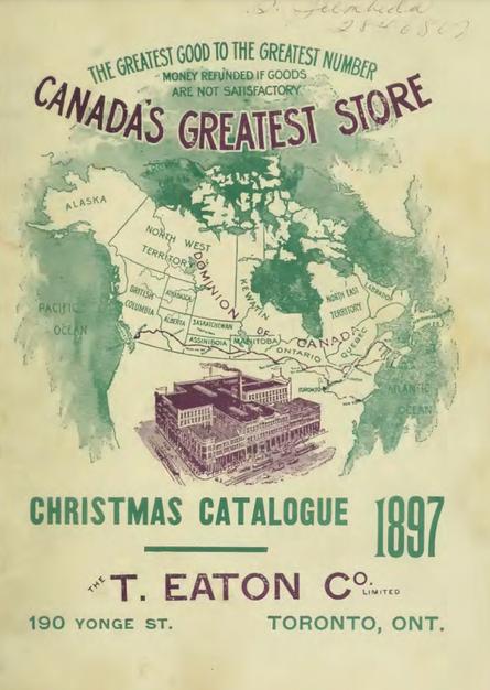 Eatons 1897 Christmas