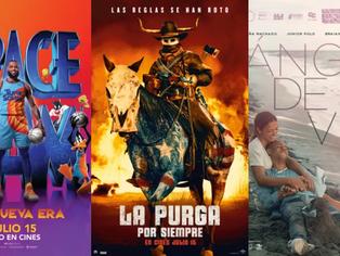 """Conoce los estrenos de cine en Colombia para este fin de semana; """"Space Jam"""" es protagonista."""