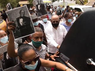 Multitudinario cortejo despidió al Merenguero Johnny Ventura en Santo Domingo
