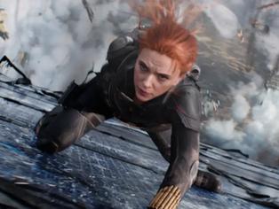 """""""Black Widow"""" bate nuevo récord en taquilla con su estreno."""