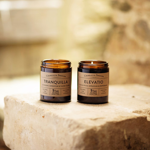Large Essential Oil Candles