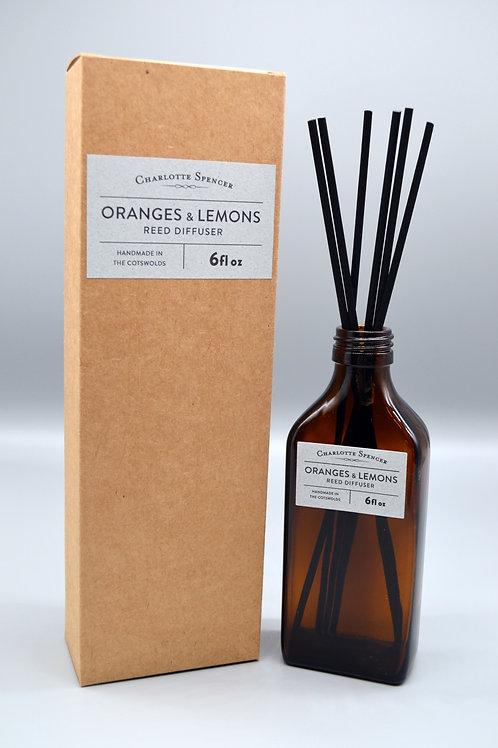 Oranges & Lemons Reed Diffuser