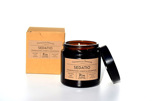 Sedatio 3.5 oz Natural Wax Essential Oil Candle