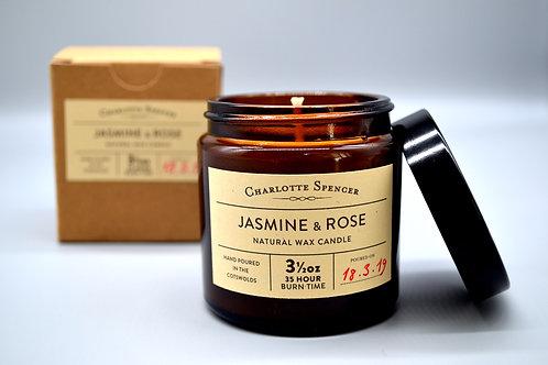 Jasmine & Rose 3.5 ozNatural Wax Candle