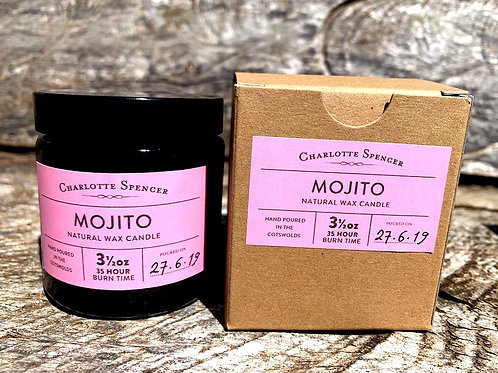 Mojito 3.5 oz Natural Wax Candle