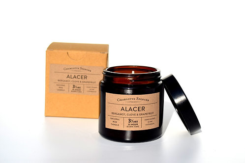 Alacer 3.5 oz Natural Wax Essential Oil Candle
