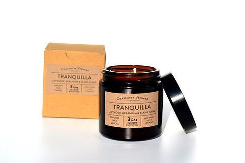 Tranquilla 3.5 oz Natural Wax Essential Oil Candle
